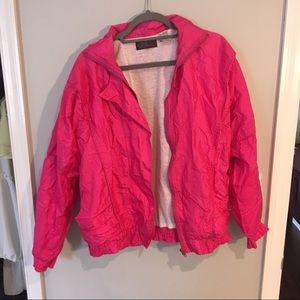 Jackets & Blazers - hot pink 80s jacket